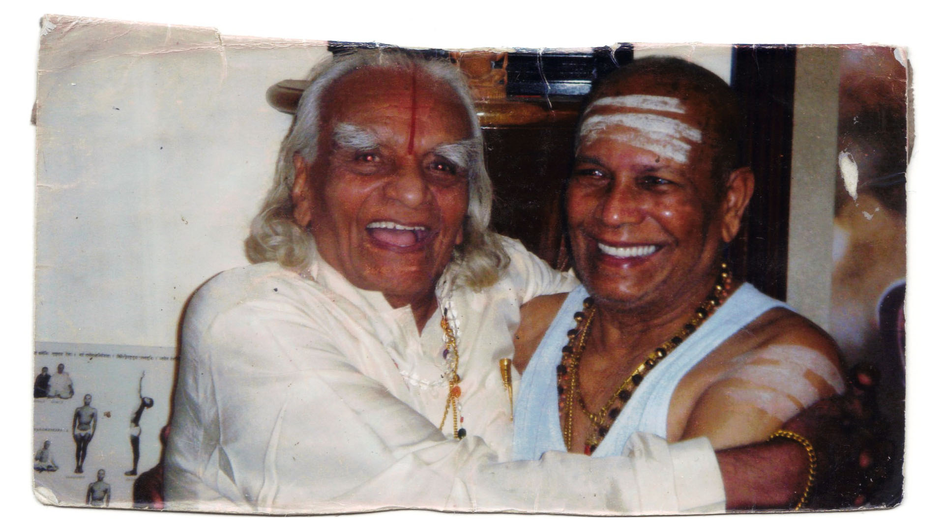 guruji bks iyengar and Pattabhi jois